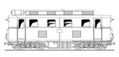 Ferro Train 203-201 - Austrian BBÖ 2070.01/s, diesel loco early version YTB,