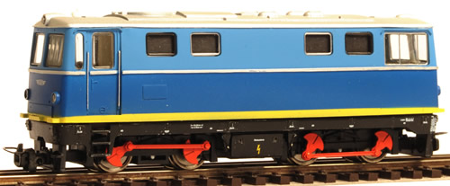 Ferro Train 205-201 - SGP 2095.01 diesel loco, blue-grey ex-works liv