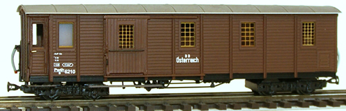 Ferro Train 705-329 - Austrian BBÖ Pw4h/s 6210  baggage car no platf.