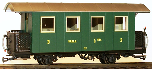 Ferro Train 711-554 - Austrian SKGLB C/s 554, with toilet
