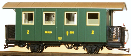 Ferro Train 711-558 - Austrian SKGLB C/s 558