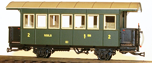Ferro Train 717-156 - AustrianSKGLB B/s 156  7 windows