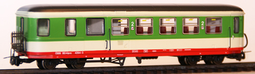 Ferro Train 720-564-P - Austrian ÖBB BD4ip/s 4264-3 Krimmler Bicycle car  gn