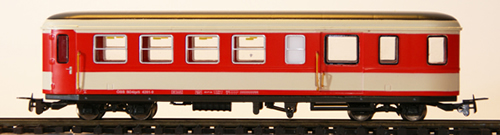 Ferro Train 720-661-Y - Austrian ÖBB BD4ip/s 4261 9 Krimmler coach red