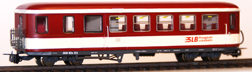 Ferro Train 720-860-P - Austrian SLB BDs 351 Krimmler .dark red - white