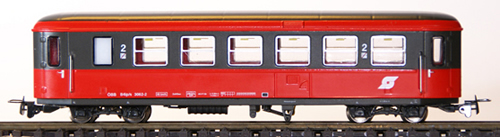 Ferro Train 722-462-P - Austrian ÖBB B4ip/s 3062 2 Krimmler coach red/umbragray