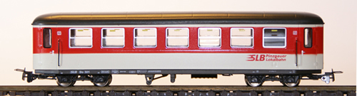Ferro Train 722-750-P - Austrian SLB Bs 301 Krimmler Wg.  red-white-grey, PLB