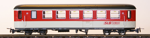 Ferro Train 722-760-P - Austrian SLB Bs 302 Krimmler Wg. red-white-grey, PLB