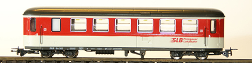 Ferro Train 722-763-P - Austrian SLB Bs 303 Krimmler Wg. red-white-grey, PLB