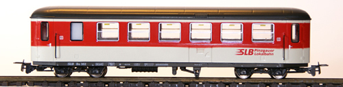 Ferro Train 722-766-P - Austrian SLB Bs 304 Krimmler Wg. red-white-grey, PLB