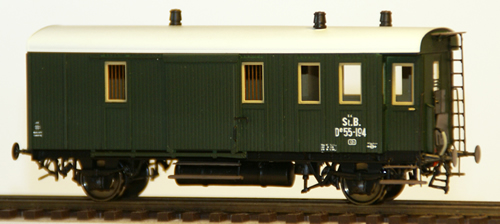 Ferro Train 761-194 - Austrian De 551954Baggage Car