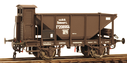 Ferro Train 850-154 - Austrian 2axle ore hopper car kkStB Kz 208964