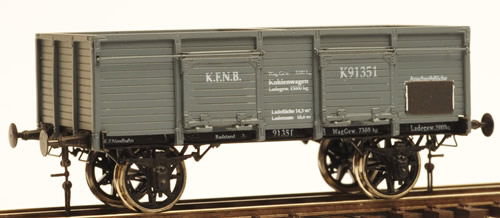 Ferro Train 855-051 - Austrian KFNB coal car K 91351 un-braked