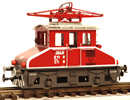 Austrian Electric Locomotive SLB E 11, red/white trim