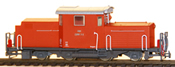 Austrian ÖBB 2091.03  orange-red, Bregenz