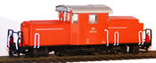 Austrian ÖBB 2091.03 orange-red, Gmünd