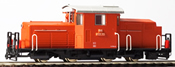 Austrian ÖBB 2091.05 orange-red, St.Pölten