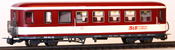 Ferro Train 720-860-P Austrian SLB BDs 351 Krimmler .dark red - white