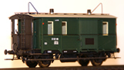 Austrian D 52-116 Baggage Car