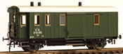 Austrian De 55195 Baggage Car