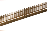 Wood fence, brass kit