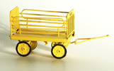 Platform trolley, yellow, ready made model