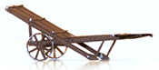 Austrian Baggage cart kkStB 1883,  ready made model