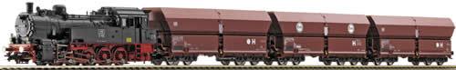 Fleischmann 391210 - Anniversary Set: Steam Locomotive BR 94 w/Coal Transport RAG AC
