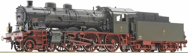 Fleischmann 391773 - German Steam Locomotive type S10.1 of the K.P.E.V. (Sound Decoder)