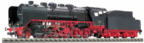 Fleischmann 394371 - Tender loco of the DRG, class 43 with 2´2´ T 32 tender w/sound