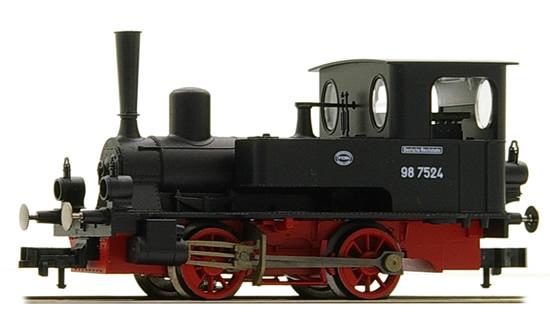 Fleischmann 400001 - German Steam Locomotive BR 98.75 Schw. Anna of the DRG