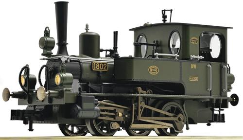 Fleischmann 400672 - Steam Locomotive DVI of the Royal Bavarian State Railway