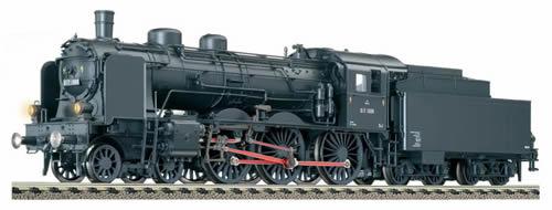 Fleischmann 411702 - Tender loco of the ÖBB, class 617 (pr. S 10.1) with tender 2´2´T 31,5 (pr)