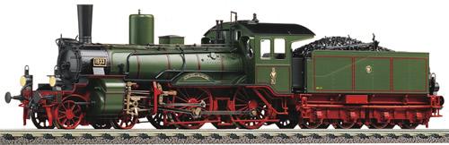 Fleischmann 413673 - Royal Prussian Steam Locomotive type P4 of the K.P.E.V. (DCC Sound Decoder)
