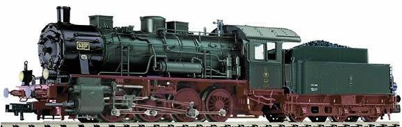 Fleischmann 415471 - Steam Locomotive Class G 8.1, KPEV (Digital Couplers; Sound and Flickering Fire Box)
