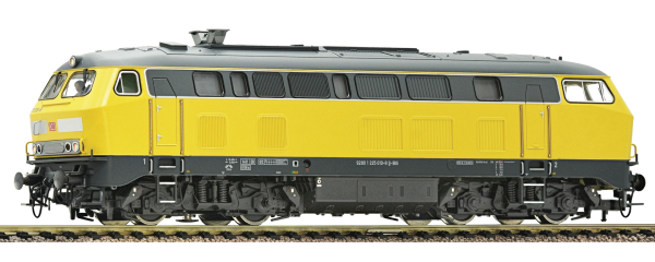 Fleischmann 424077 - German Diesel Locomotive 225 DB Bahnbaugruppe of the DB AG