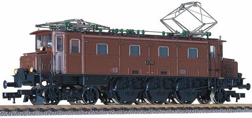 Fleischmann 434501 - Electric Locomotive Ae 3/6-braun (821345)