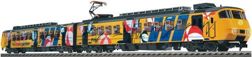 Fleischmann 447102 - Electric Railcar Plan Y-Sprinter Strandballer