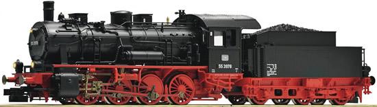 Fleischmann 481375 - Steam Locomotive Class BR 55, DB (Digital Couplers; Flickering Firebox and Sound)
