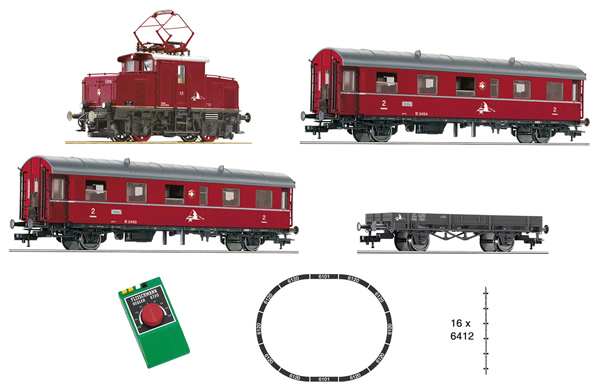 Fleischmann 481702 - Swiss Analog Starter Set w. Rack and Pinion Locomotive