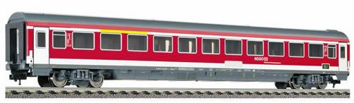 Fleischmann 510401 - RegionalExpress coach 1st/2nd class, type ABvmsz184 of the DB AG