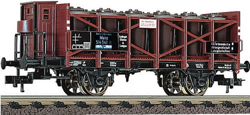 Fleischmann 522104 - DR Acid Car with Brakemans Platform