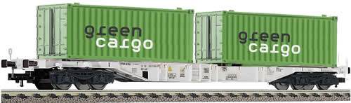 Fleischmann 524106 - Container carrying wagon w. containers
