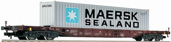 Fleischmann 524501 - Container Carrier Wagon Sgns MAERSK SEALAND