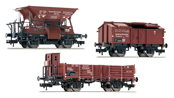 Fleischmann 550504 - German Freight Car Set for E 69 05 of the DRG