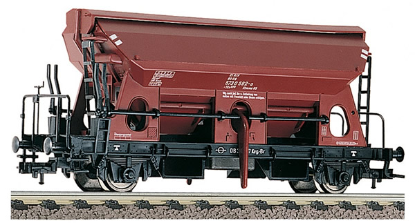 Fleischmann 551002 - German Self unloading hopper wagon type Tds 928 of the DB