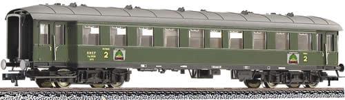 Fleischmann 567707 - Express coach 2 class, SNCF