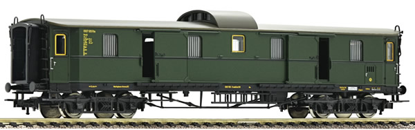 Fleischmann 568003 - German Fast Train Baggage Car type Pw 4ü