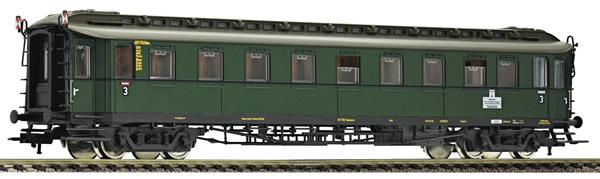 Fleischmann 568304 - German 3rd Class Fast Train Wagon type C 4ü