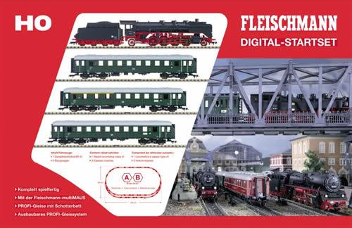 fleischmann 631082 digital starter set br 41
